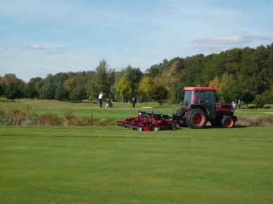 Pro-Flex Mower Handles Heavy Workload On Historic Course