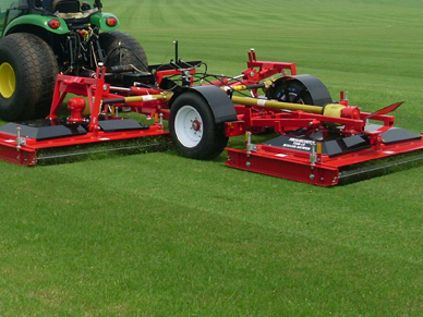 TDR15 roller mower earns its stripes at Cambridge College