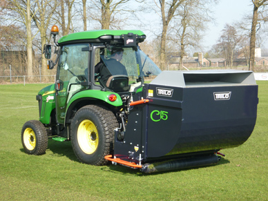 Trilo C15 scarifier collector