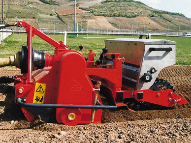 Rotadairon Combi-Seeders