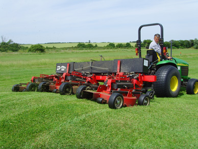 Photo of mowers