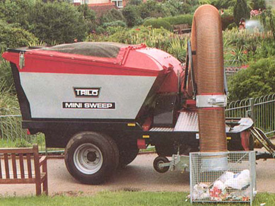 Trilo Sg450 Ground Care And Maintenance Vacuum Sweeper